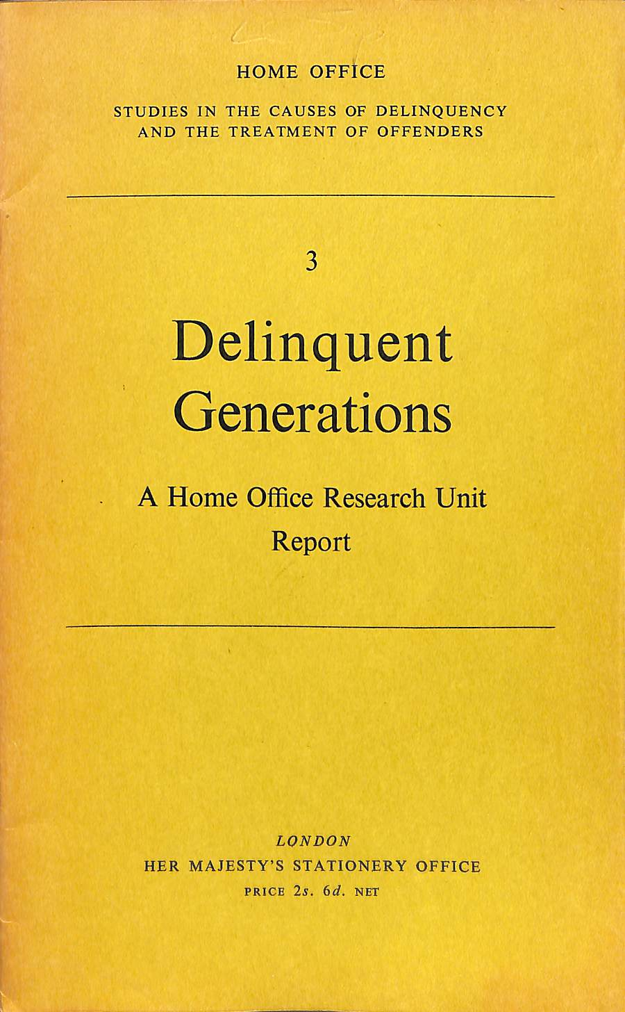 Image for Delinquent Generations