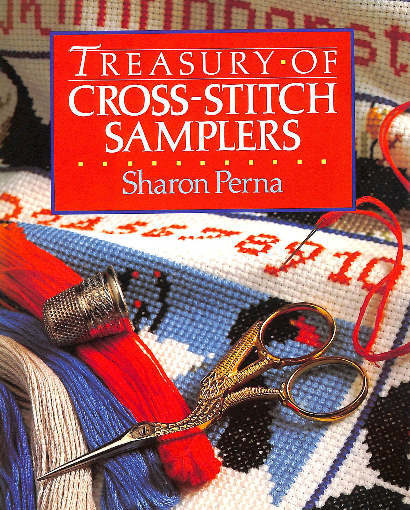 Image for Treasury of Cross-stitch Samplers