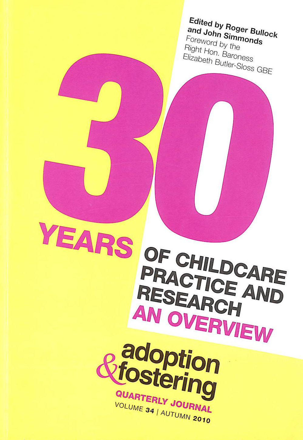Image for 30 Years of Childcare Practice and Research: An Overview