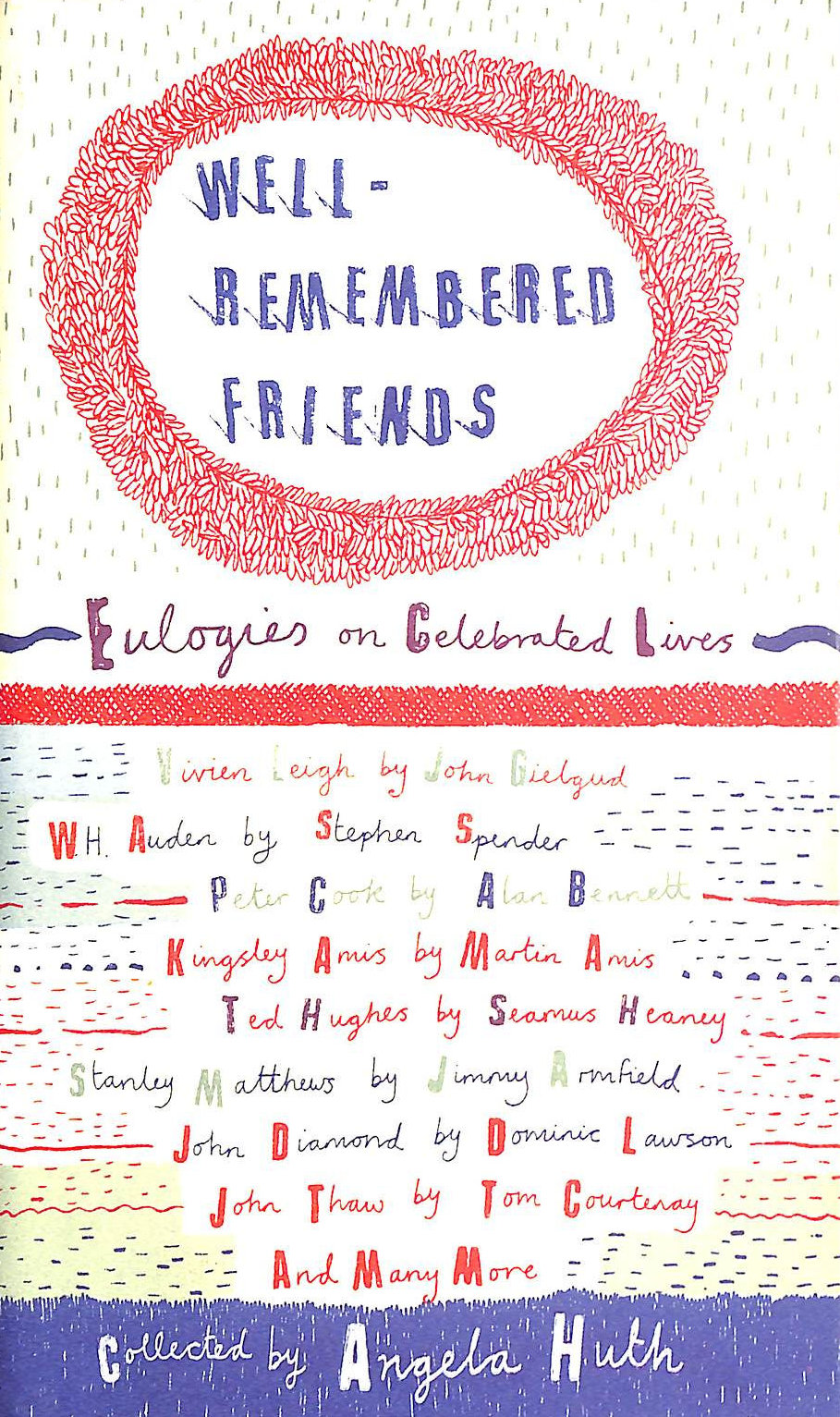 Image for Well-Remembered Friends: Eulogies on Celebrated Lives