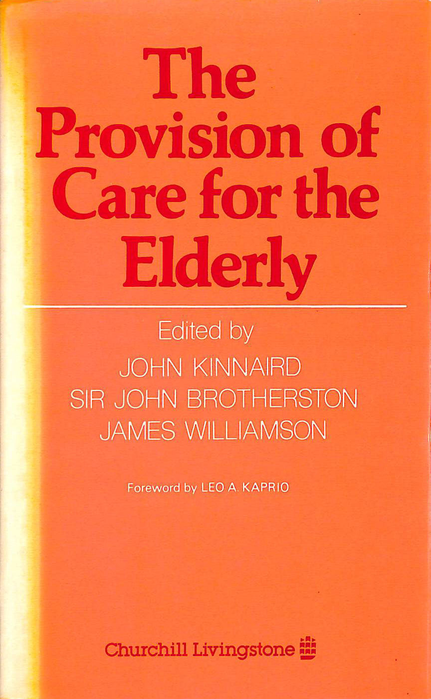 Image for Provision of Care for the Elderly