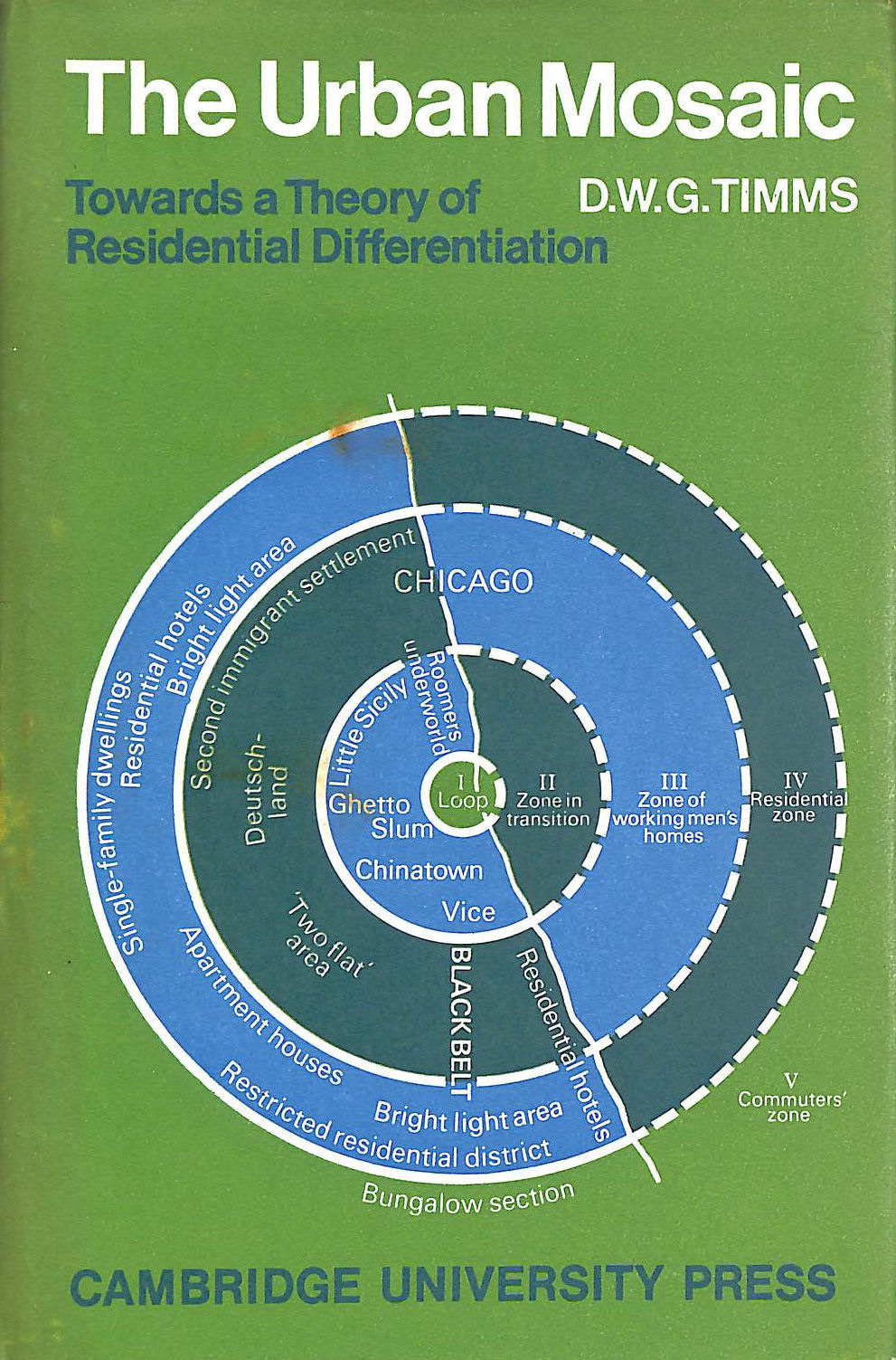 Image for The Urban Mosaic: Towards a Theory of Residential Differentiation