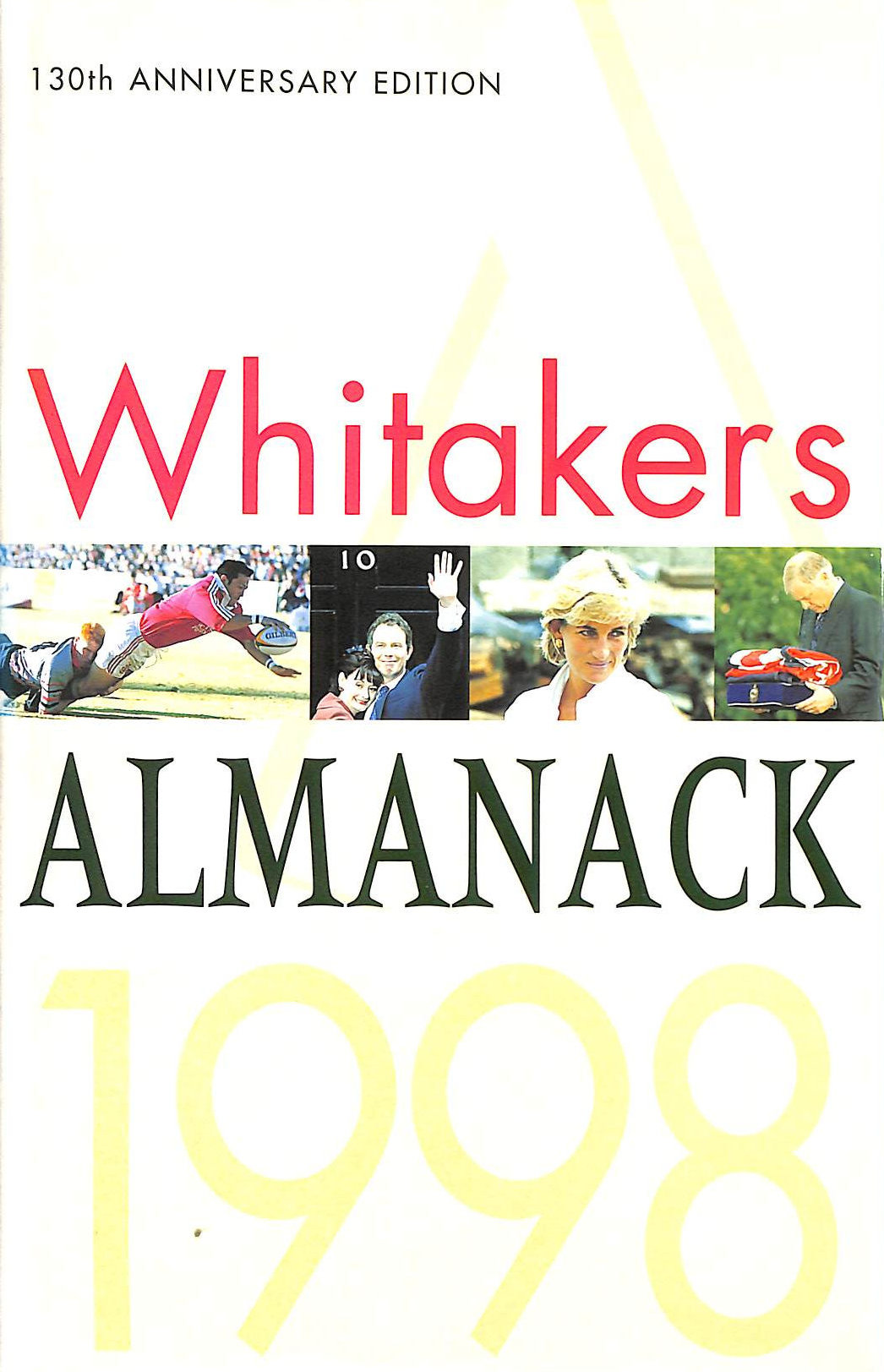 Image for Whitaker's Almanack 1998: 130th annual edition. Standard edition