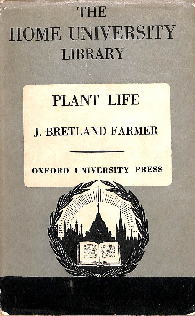 Image for Plant life (Home University library of modern knowledge)