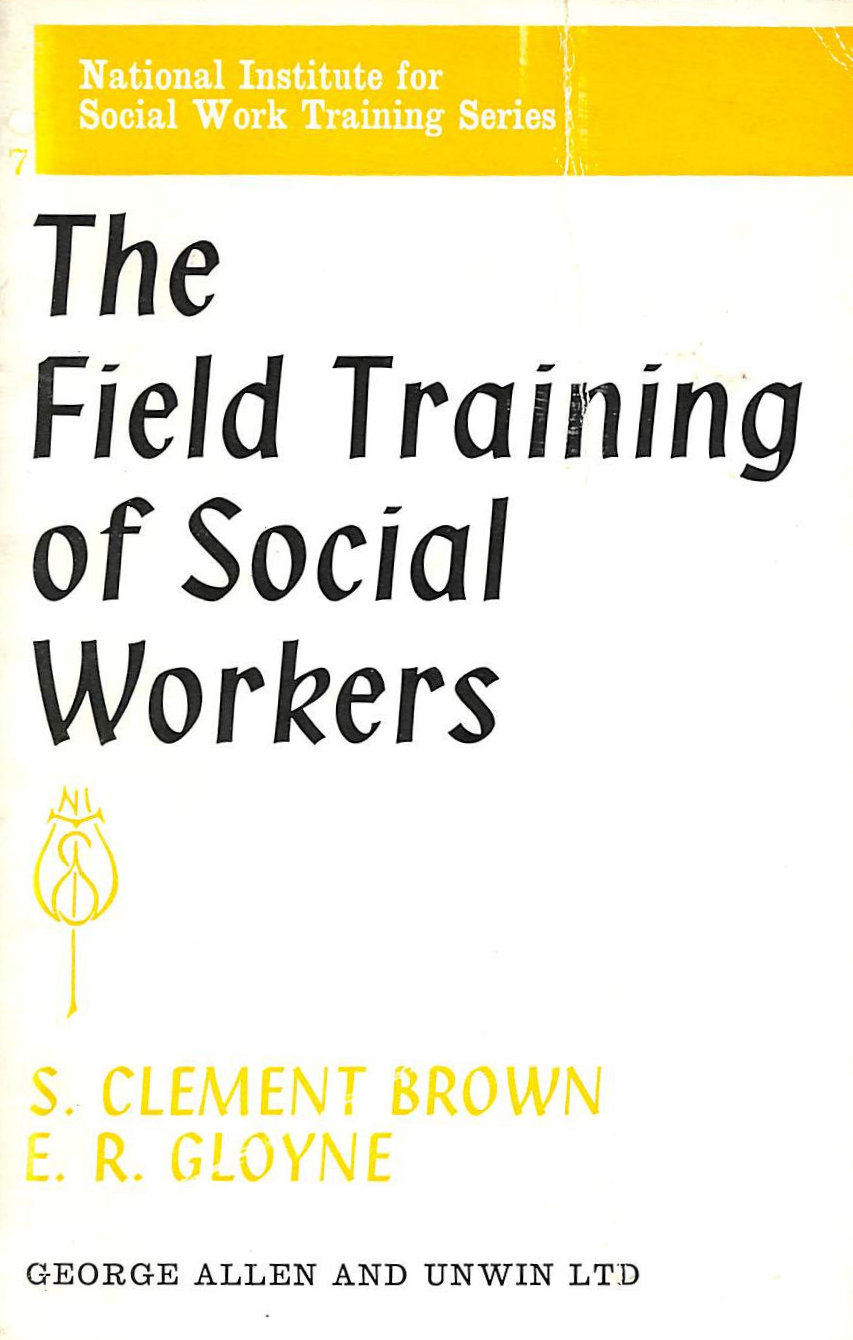 Image for Field Training of Social Workers