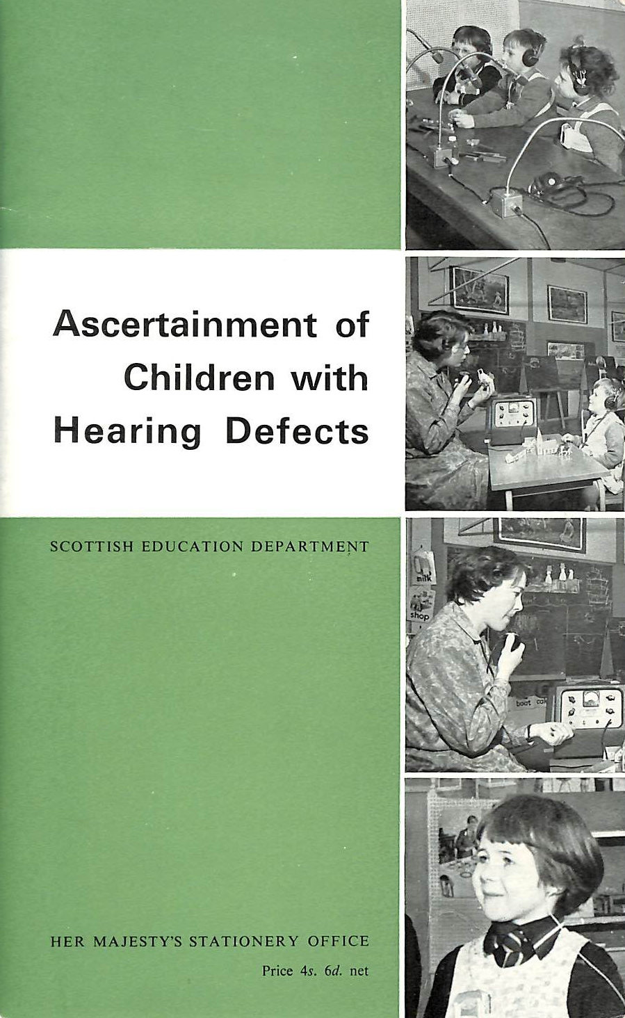 Image for Ascertainment of Children with Hearing Defects