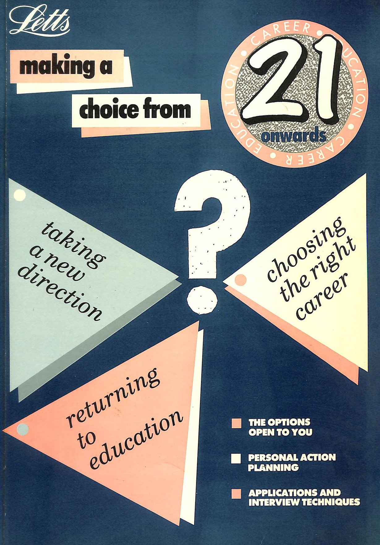 Image for Making a Choice from 21 Onwards