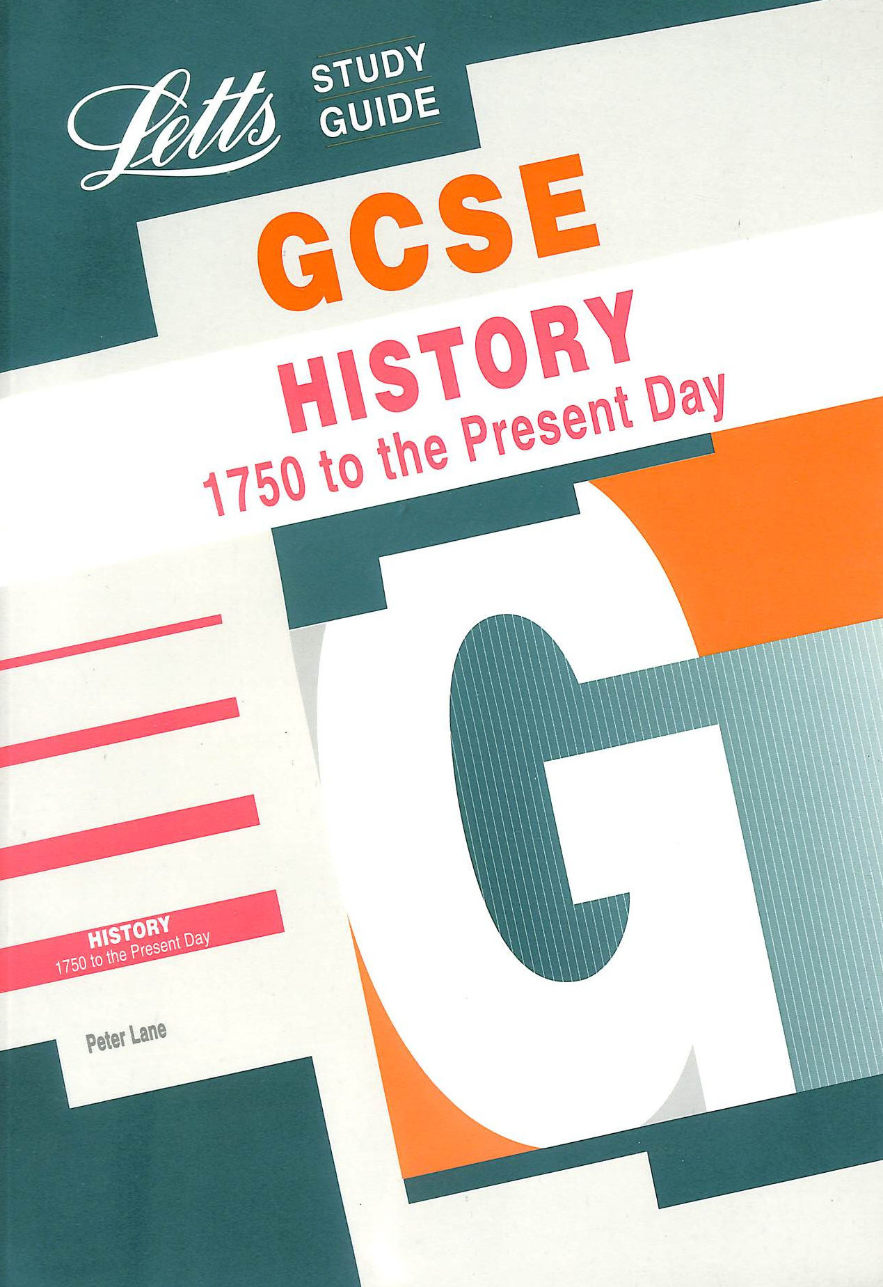 Image for GCSE History: 1750 to the Present Day (GCSE Study Guide)