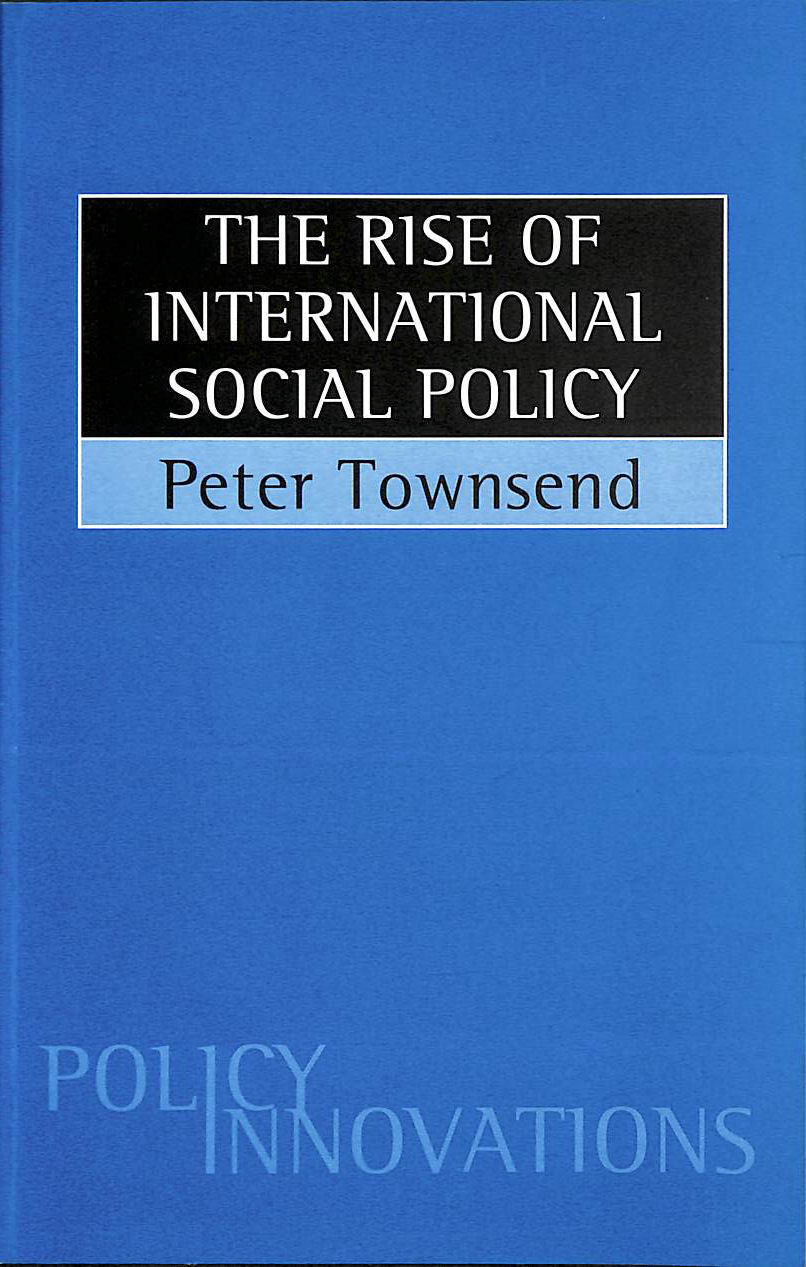 Image for The Rise of International Social Policy