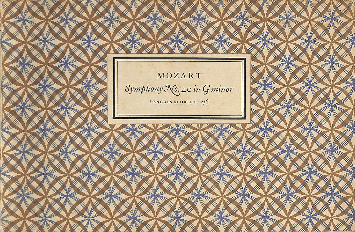 Image for The Penguin Scores No. 1: Mozart: Symphony No. 40 In G Minor.
