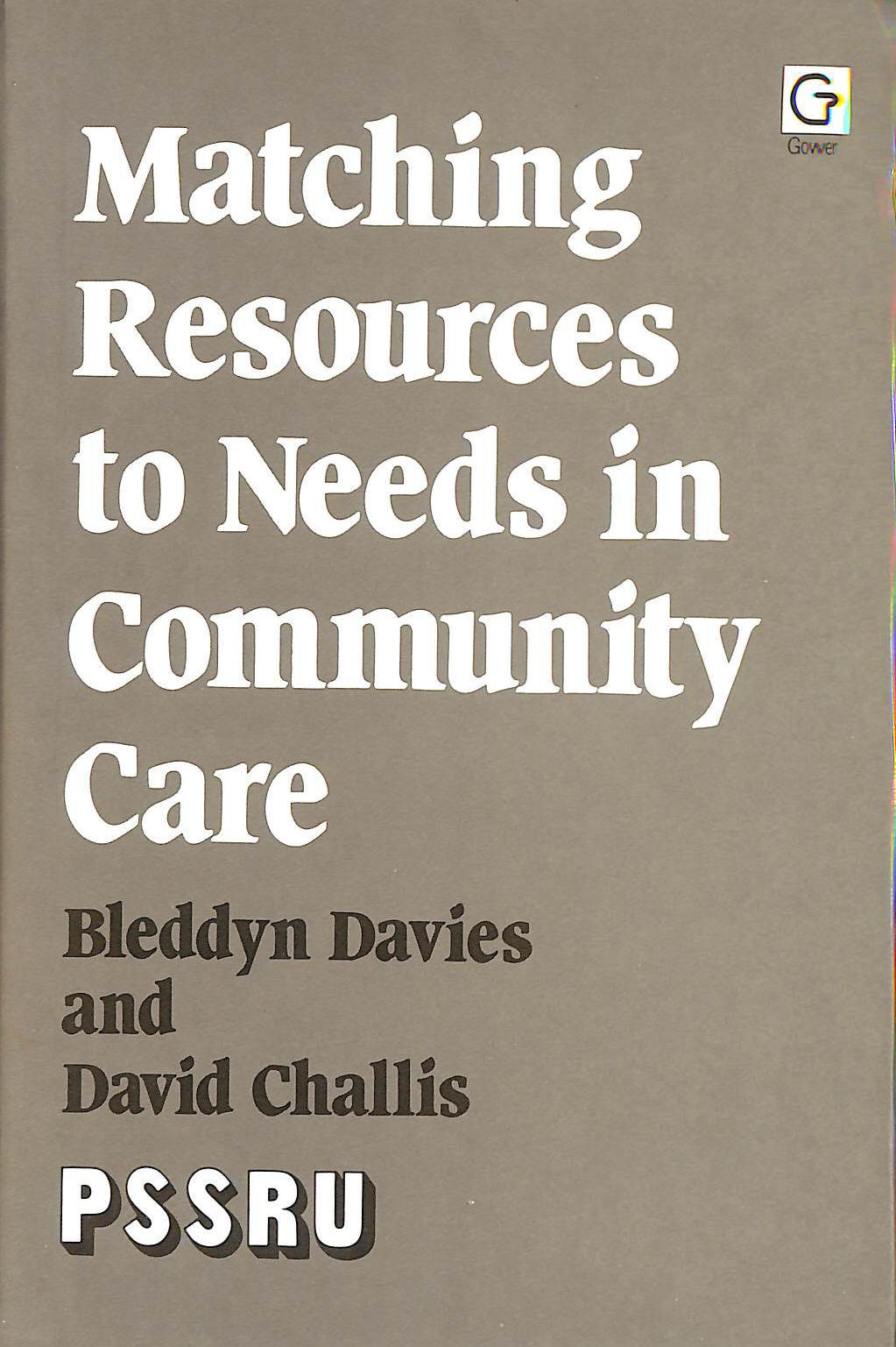 Image for Matching Resources to Needs in Community Care