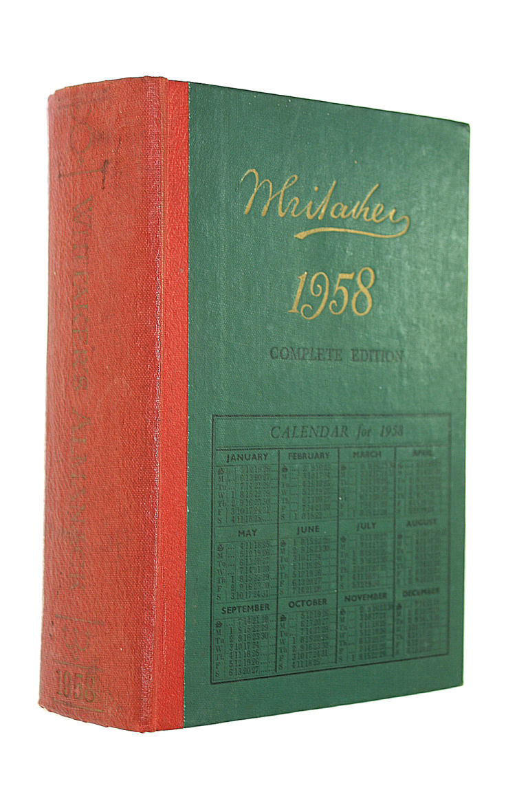 Image for Whitaker's Almanack 1958 - Complete Edition