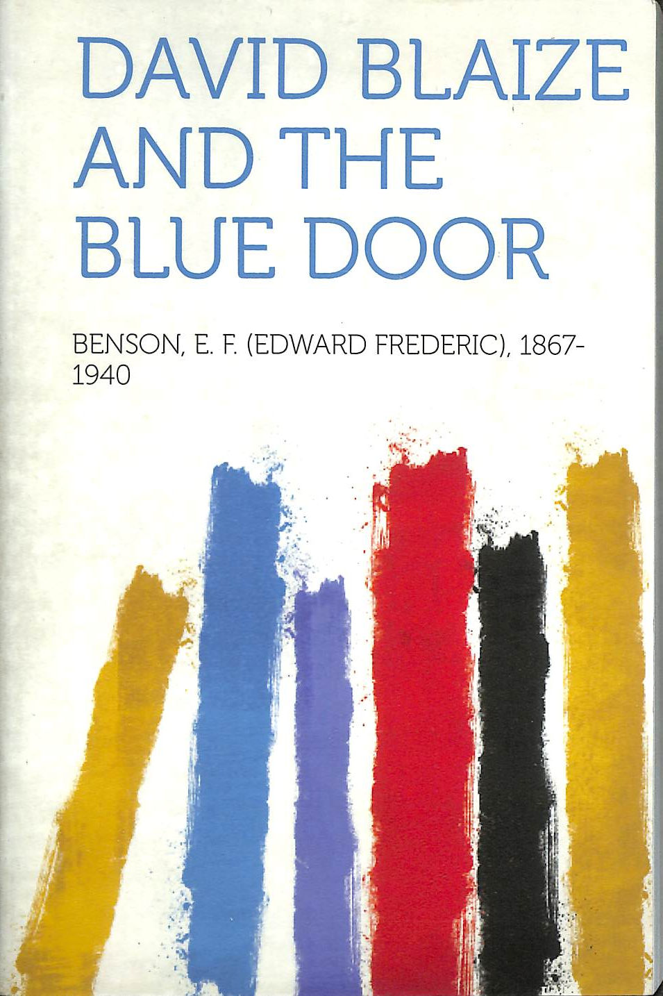 Image for David Blaize and the Blue Door