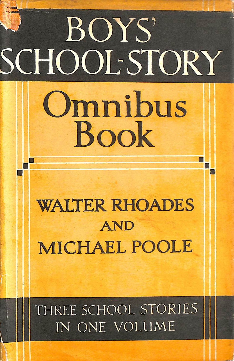Image for Boys' School-Story Omnibus Book