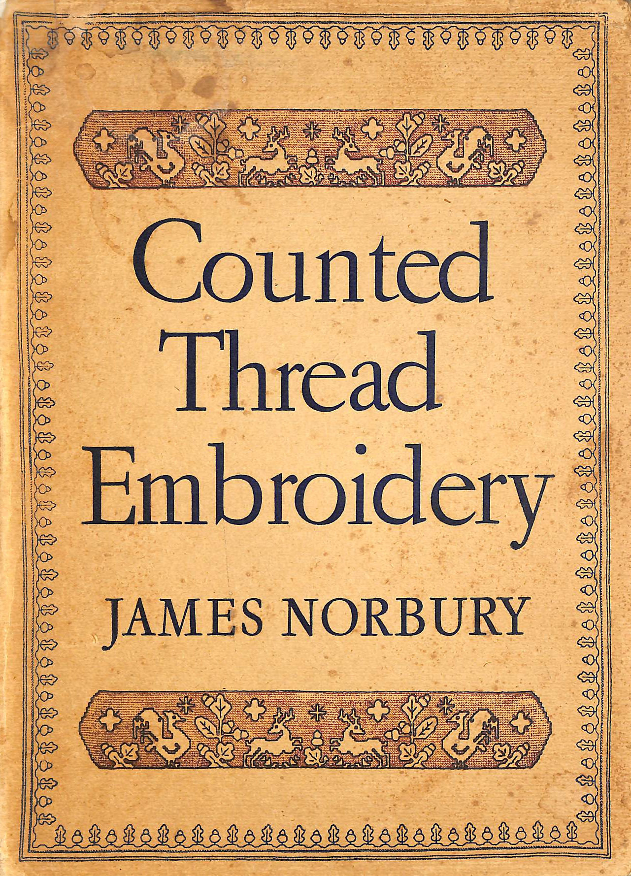 Image for Counted Thread Embroidery on Linens and Canvas