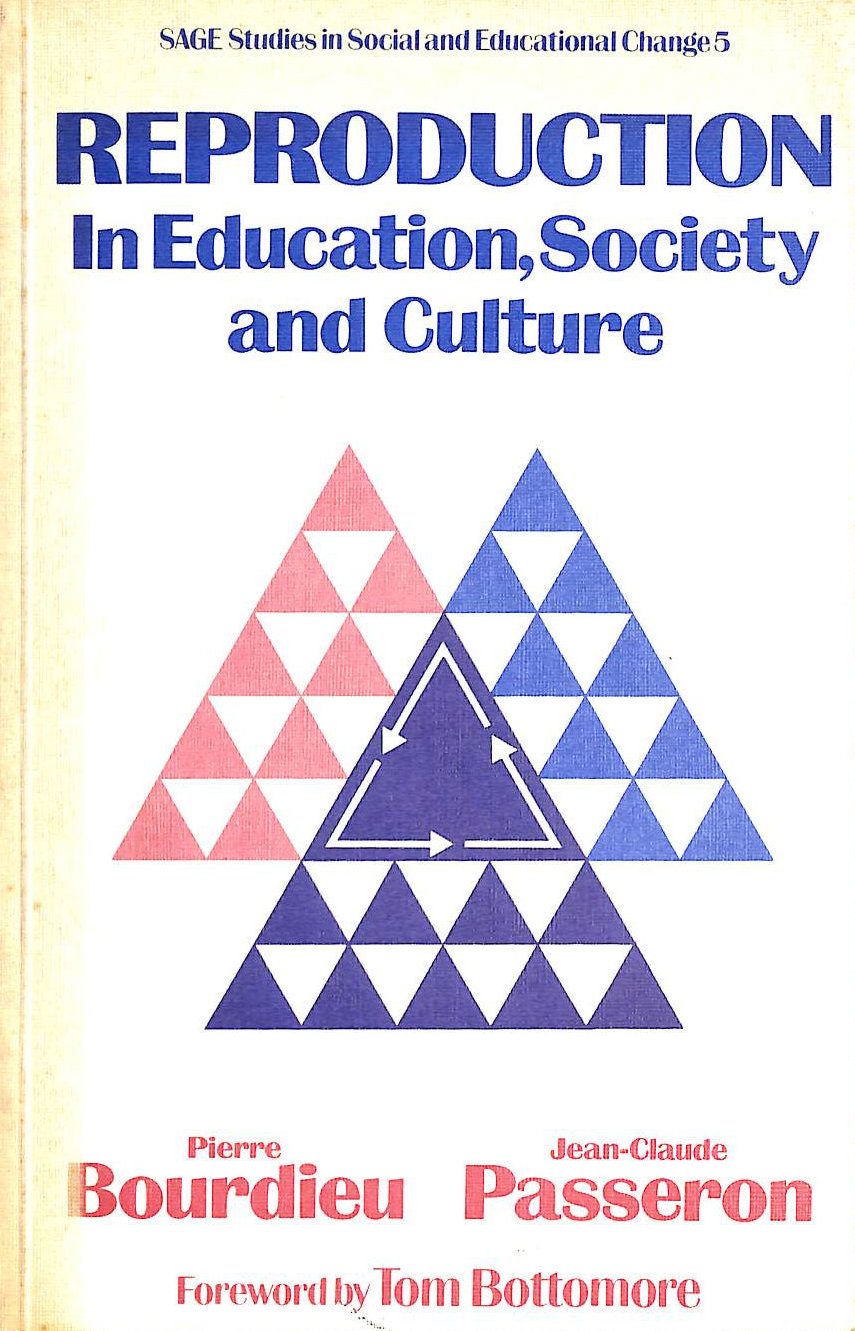 Image for Reproduction in Education, Society and Culture (Sage studies in social & educational change)