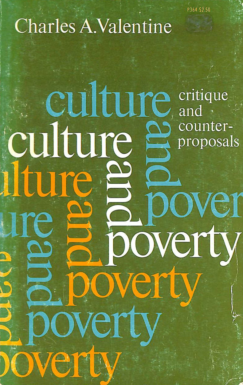 Image for Culture and Poverty: Critique and Counter-proposals