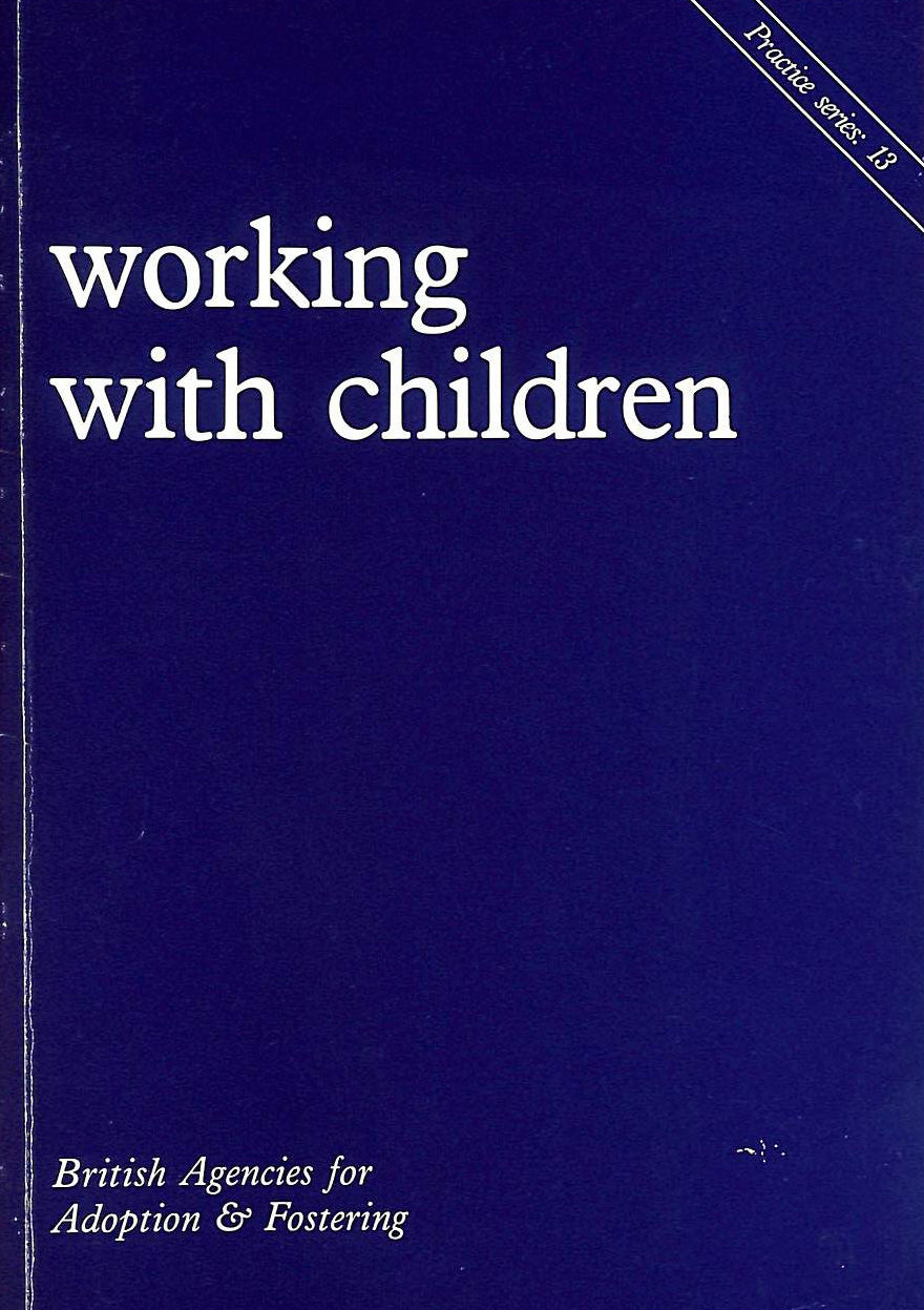 Image for Working with Children: Practice Papers