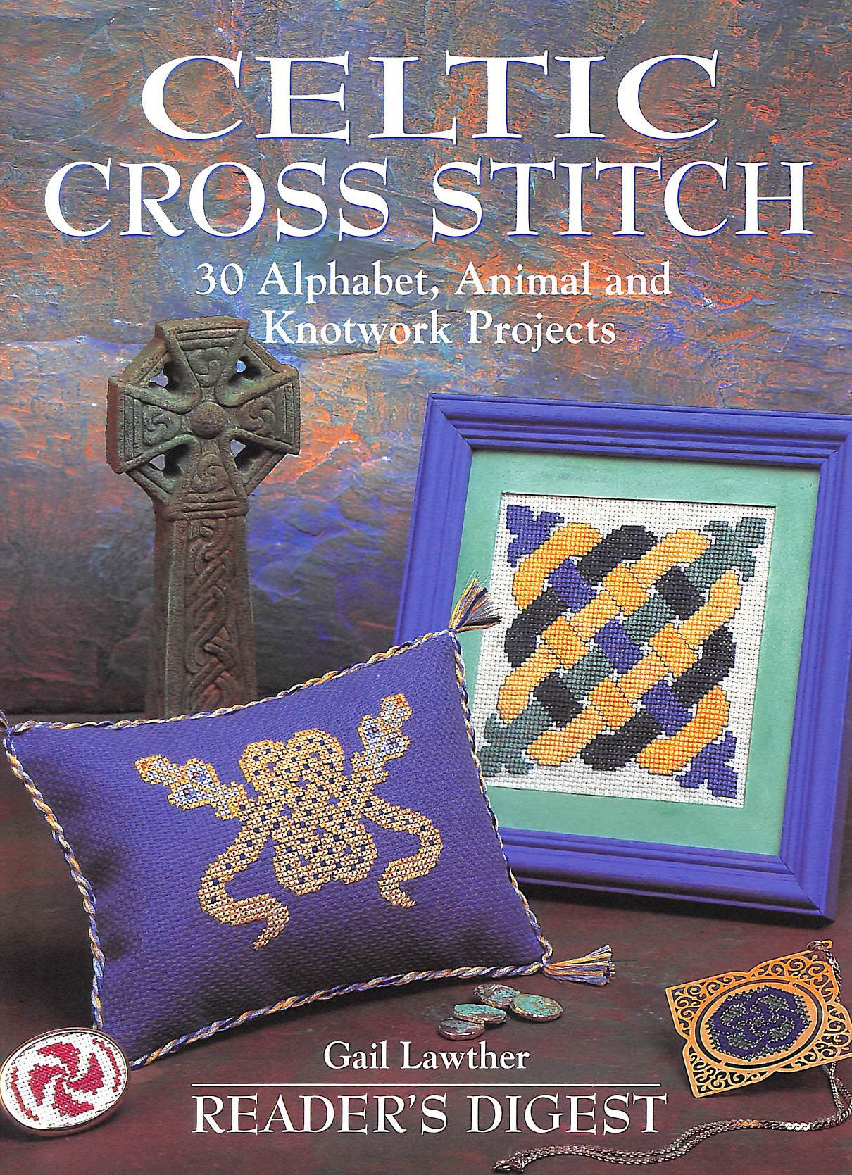 Image for Celtic Cross Stitch (Rdus): 30 Alphabet, Animal, and Knotwork Projects