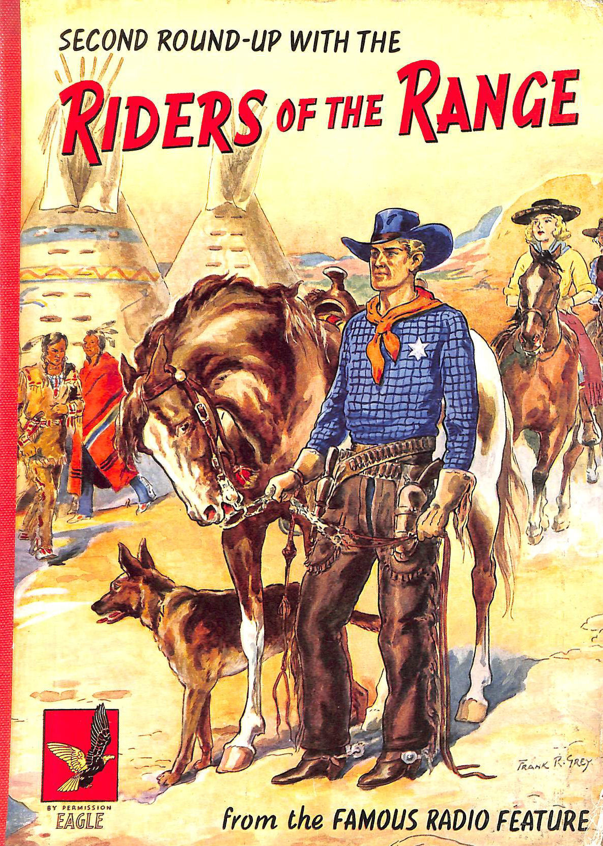 Image for Second Round-Up with the Riders of the Range
