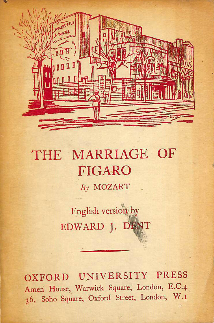 Image for The Marriage of Figaro