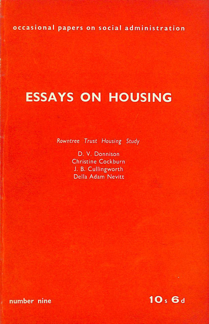 Image for Essays on Housing
