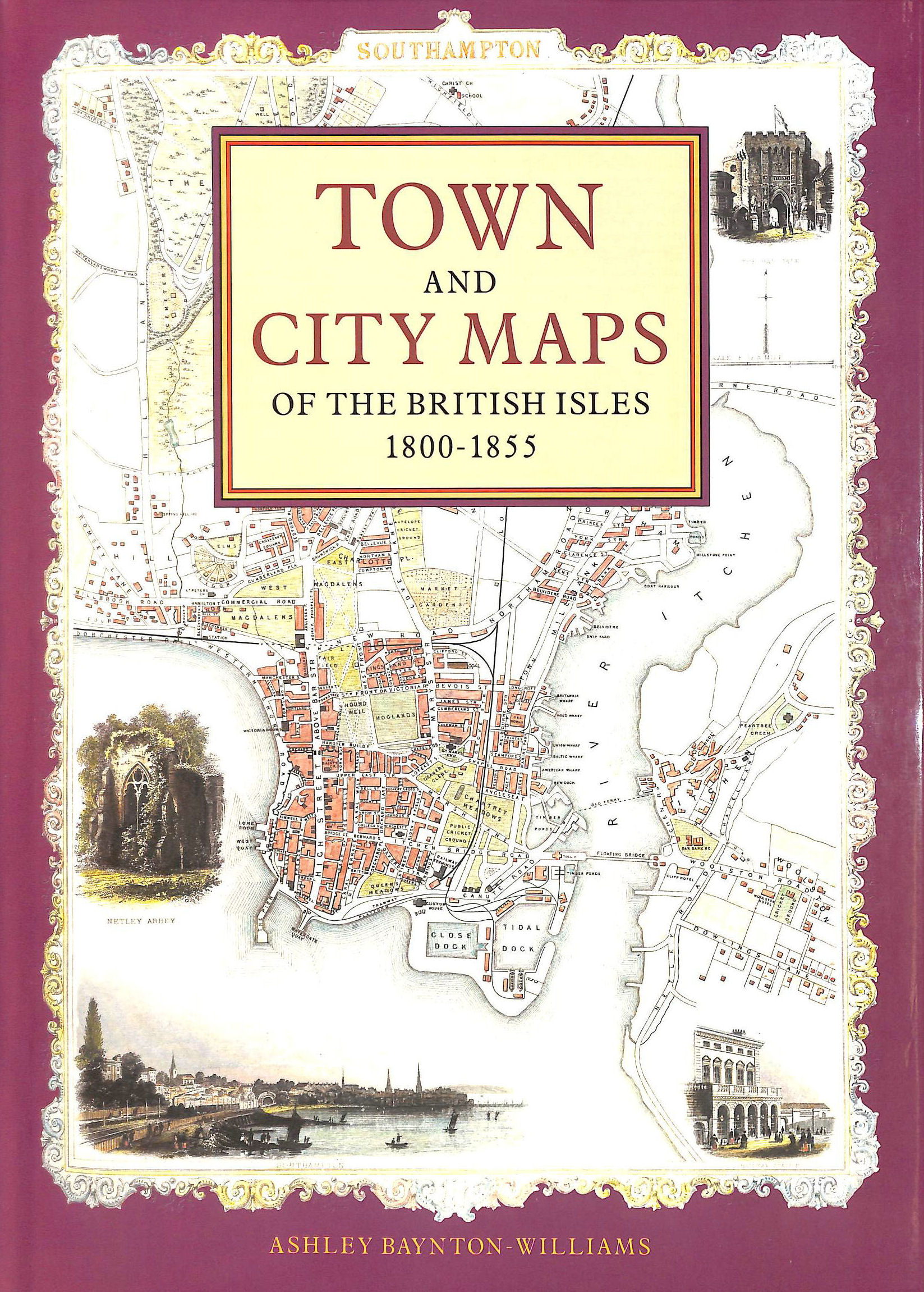 Image for Town and City Maps of the British Isles, 1800-55