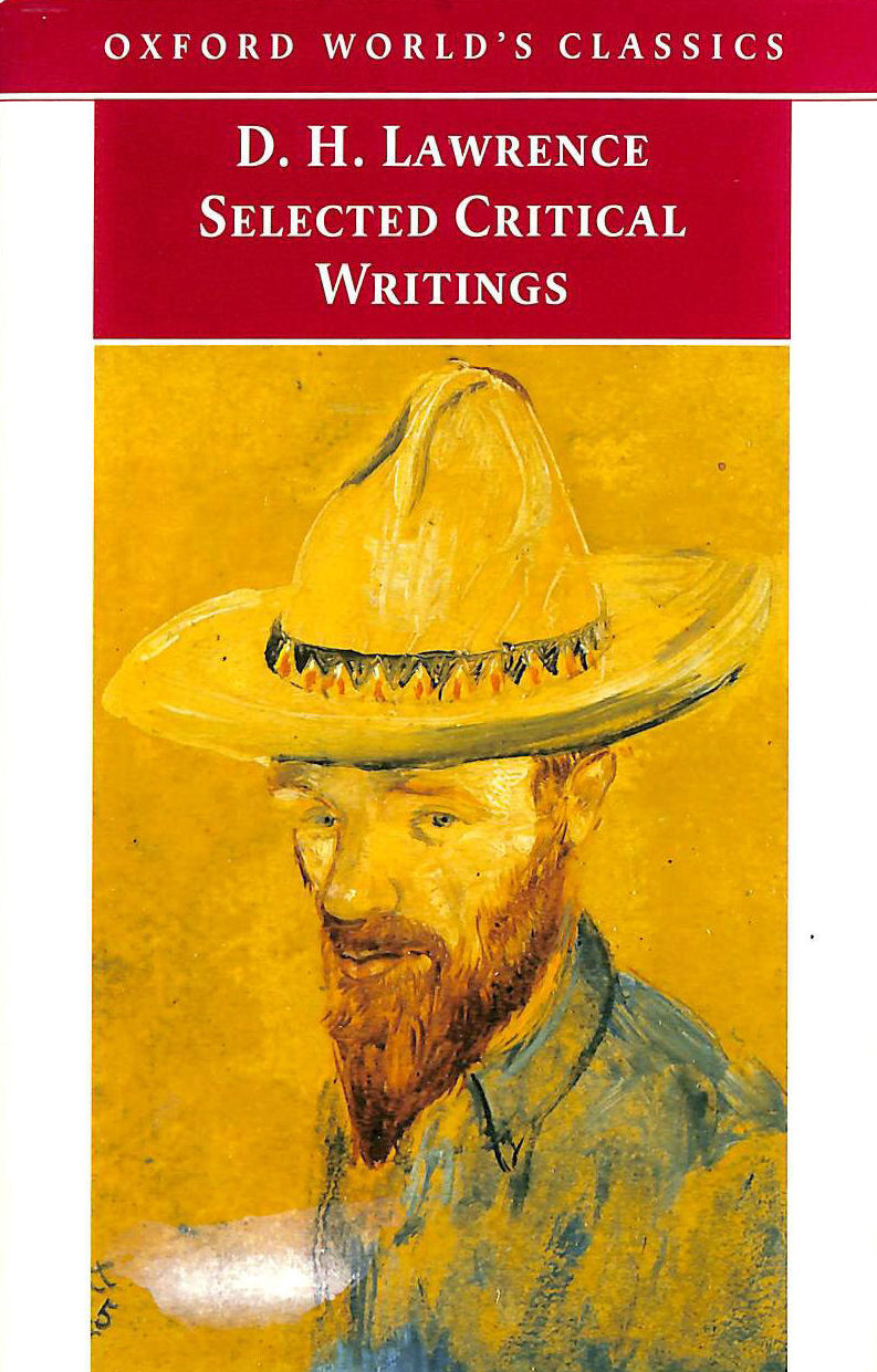 Image for Oxford World's Classics: Selected Critical Writings