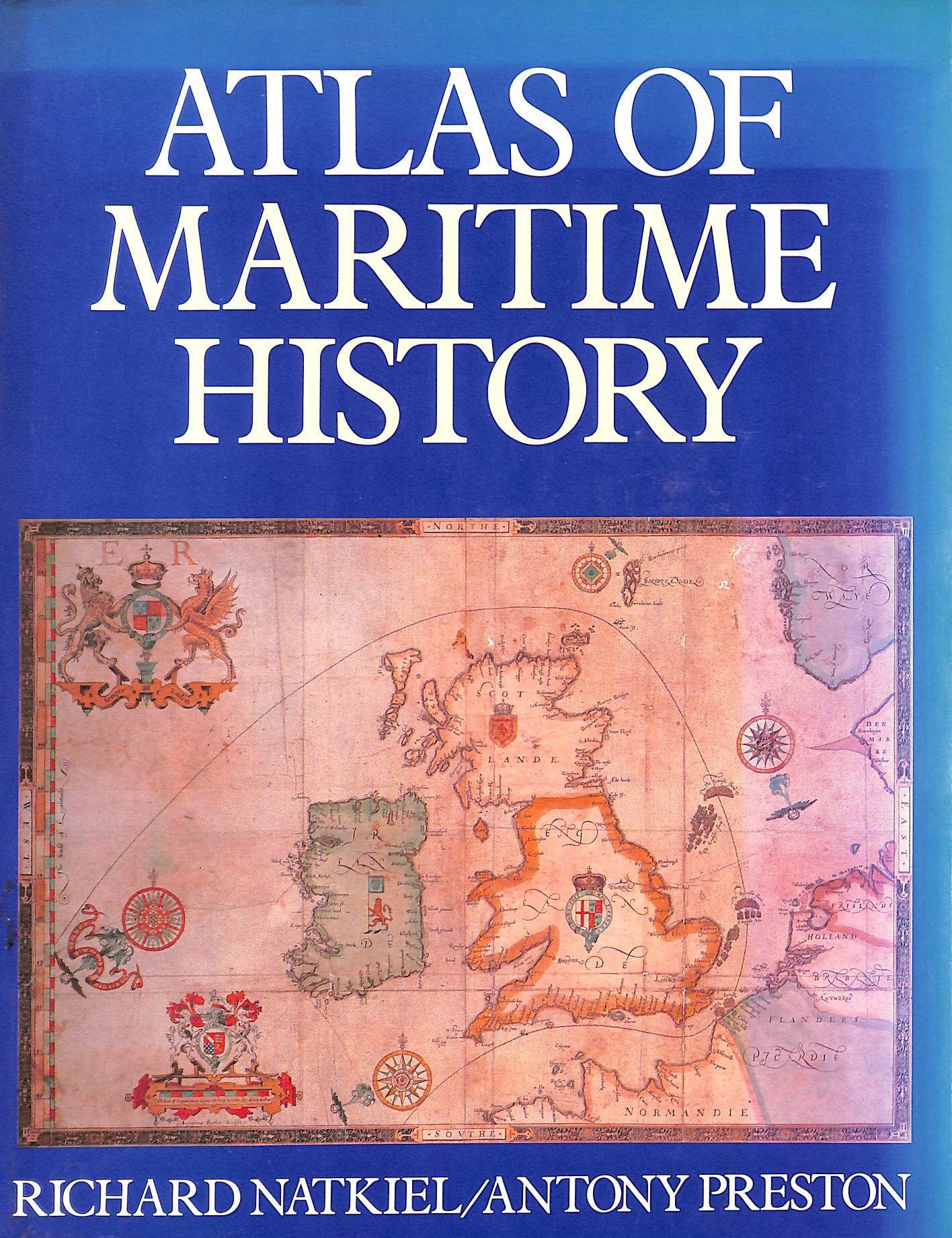 Image for ATLAS OF MARITIME HISTORY.