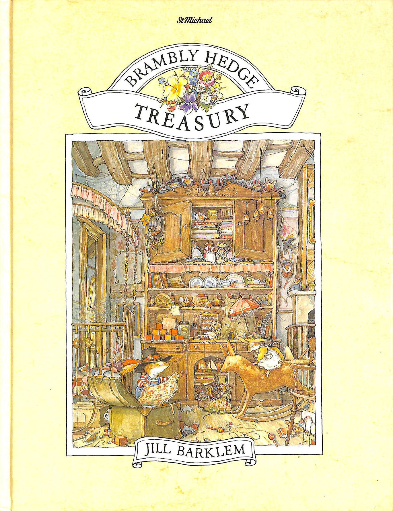 Image for THE BRAMBLY HEDGE TREASURY