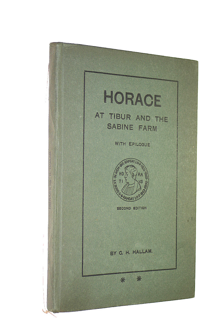 Image for Horace at Tibur and the Sabine Farm, with Epilogue