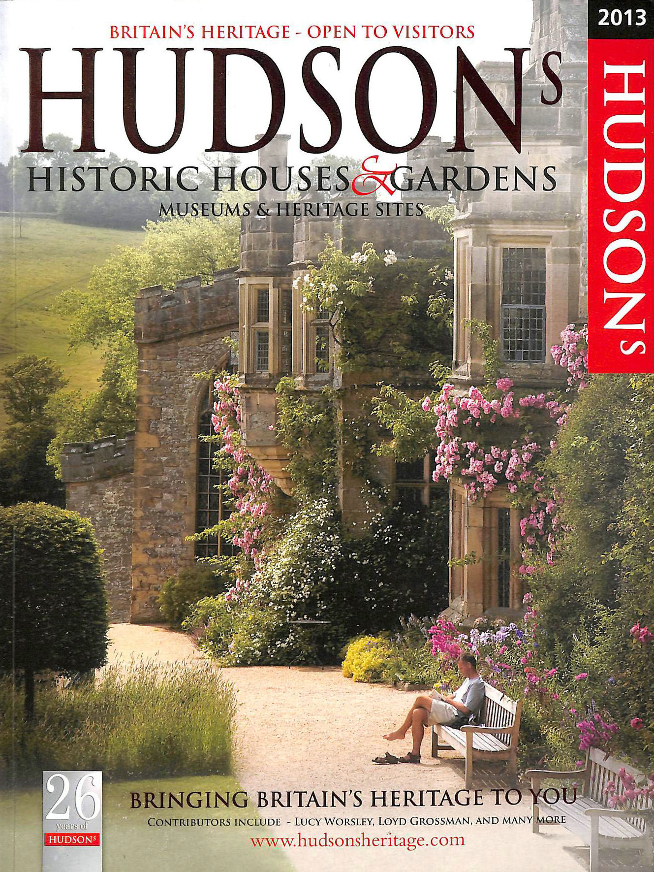 Image for Hudson's Historic Houses and Gardens, Castles and Heritage Sites 2013 (Hudsons Heritage)