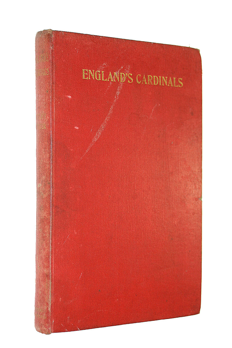 Image for England's Cardinals: With an Appendix Showing the Reception of the Sacred Pallium By the Archbishops of Canterbury and Westminster