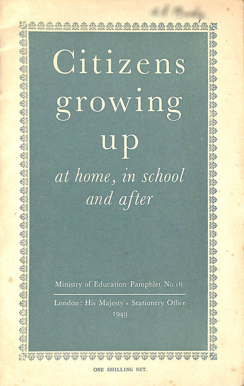 Image for Citizens Growing Up At Home, In School and After