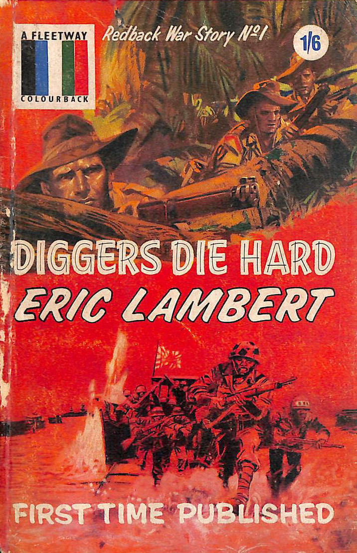 Image for Diggers Die Hard (Redback War Story No 1)