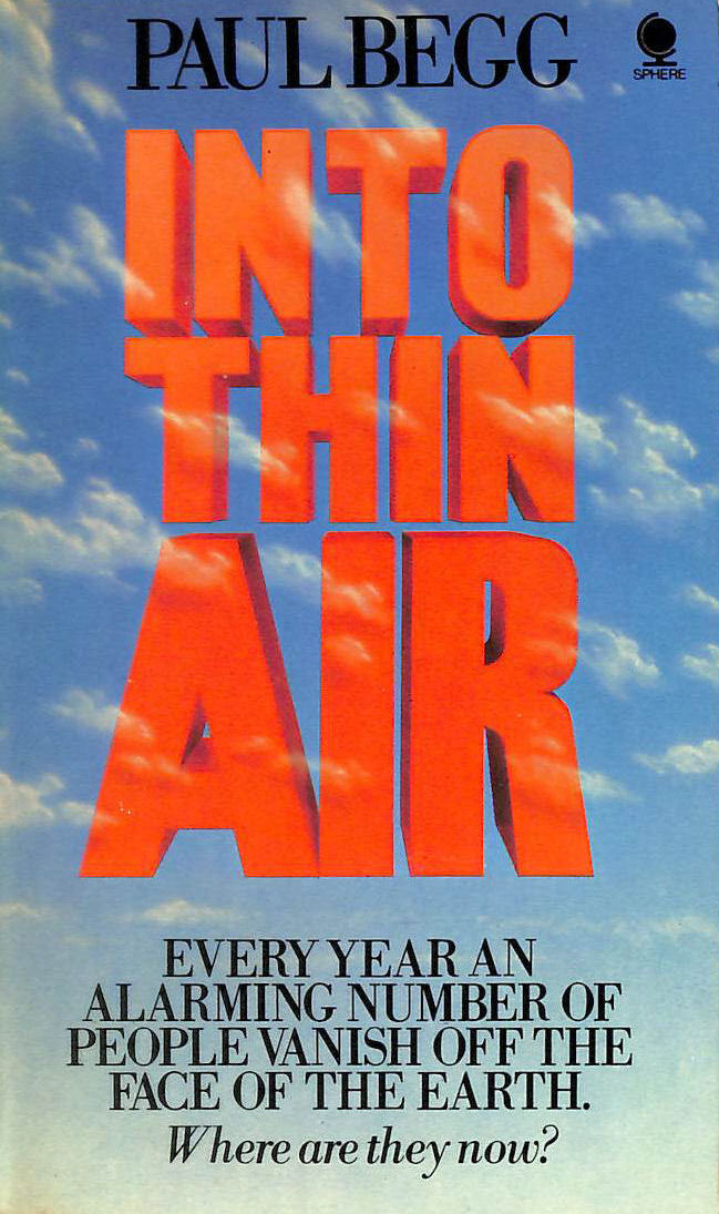 Image for Into Thin Air: People Who Disappear