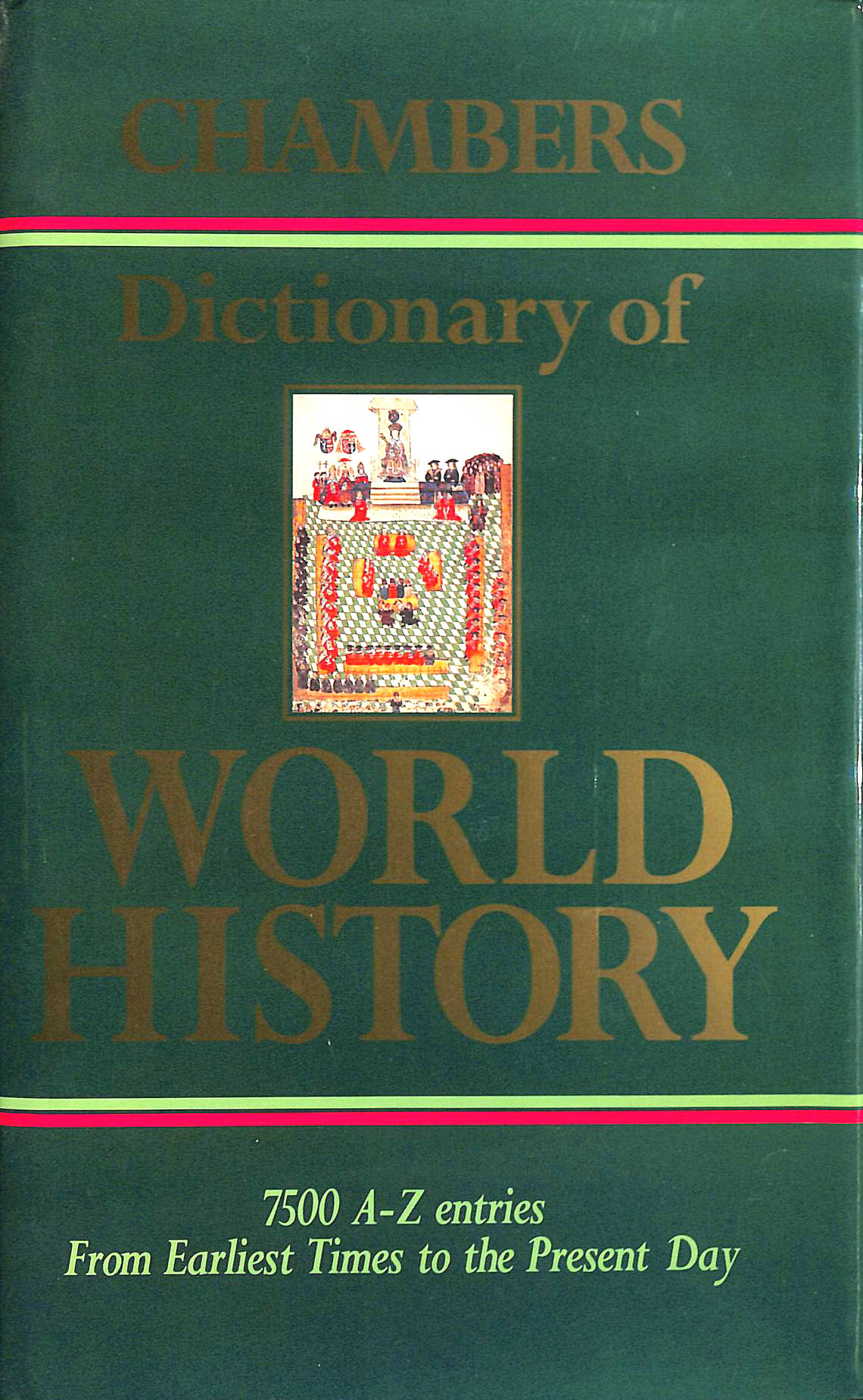 Image for Chambers Dictionary of World History