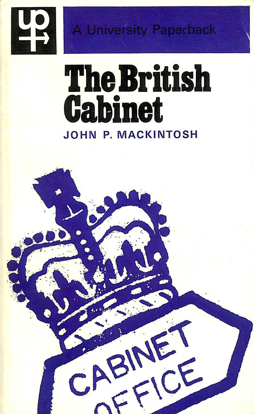 Image for British Cabinet (University Paperbacks)