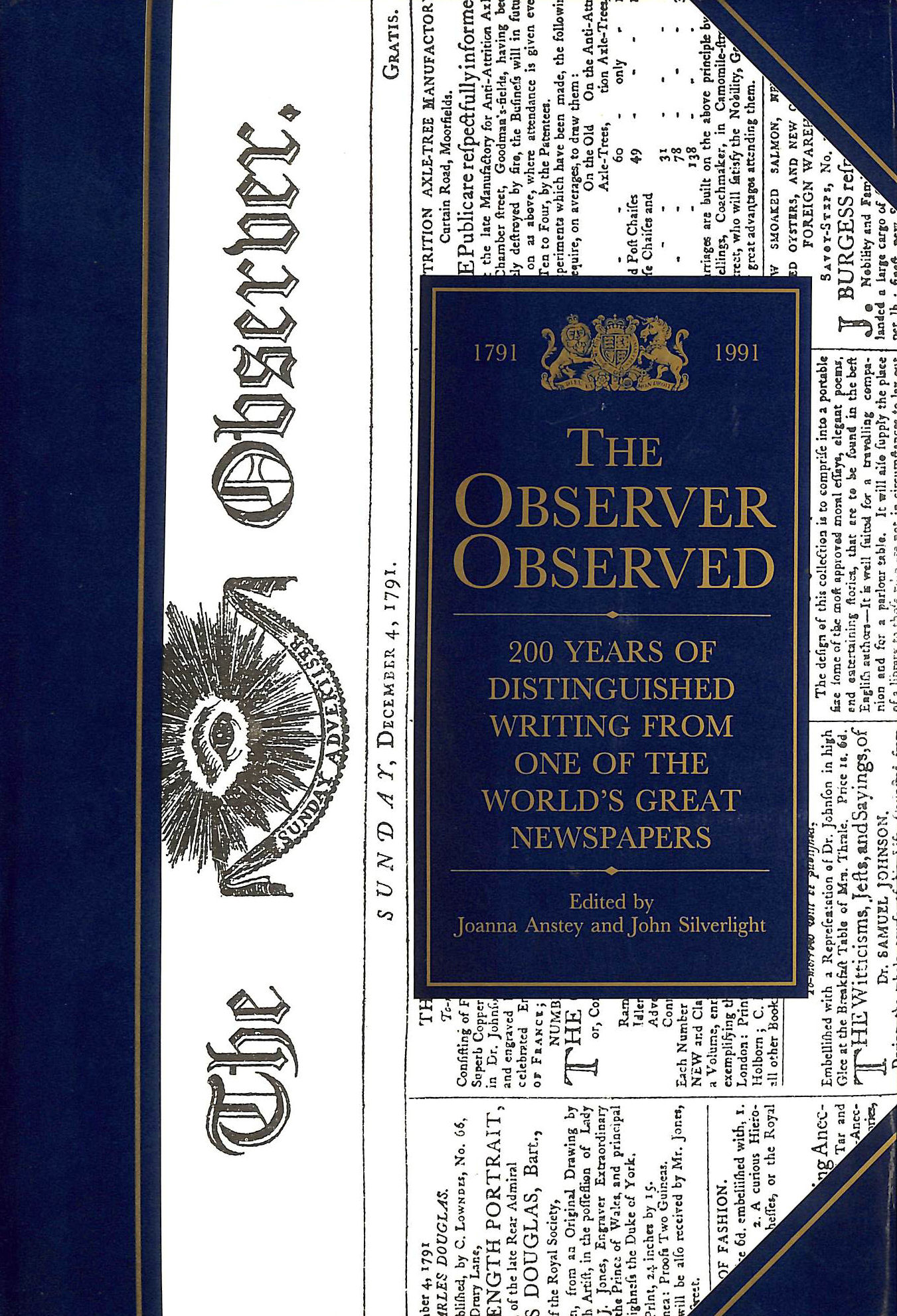 """Image for The """"Observer"""" Observed: 200 Years of the """"Observer"""""""
