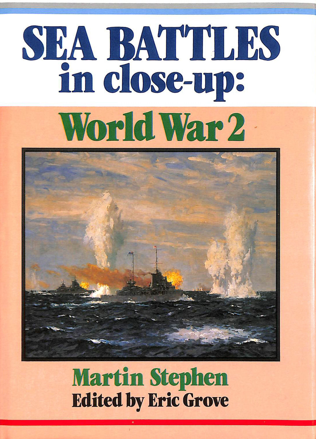 Image for World War Two. Sea Battles in Close Up)