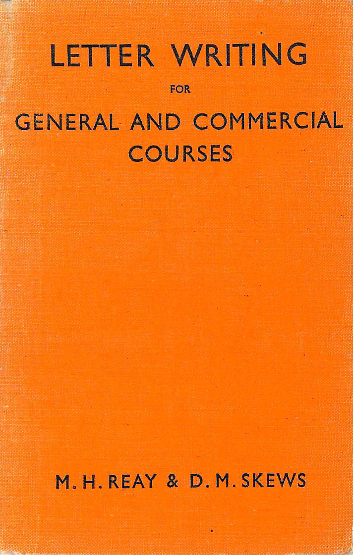 Image for LETTER WRITING FOR GENERAL AND COMMERCIAL COURSES.