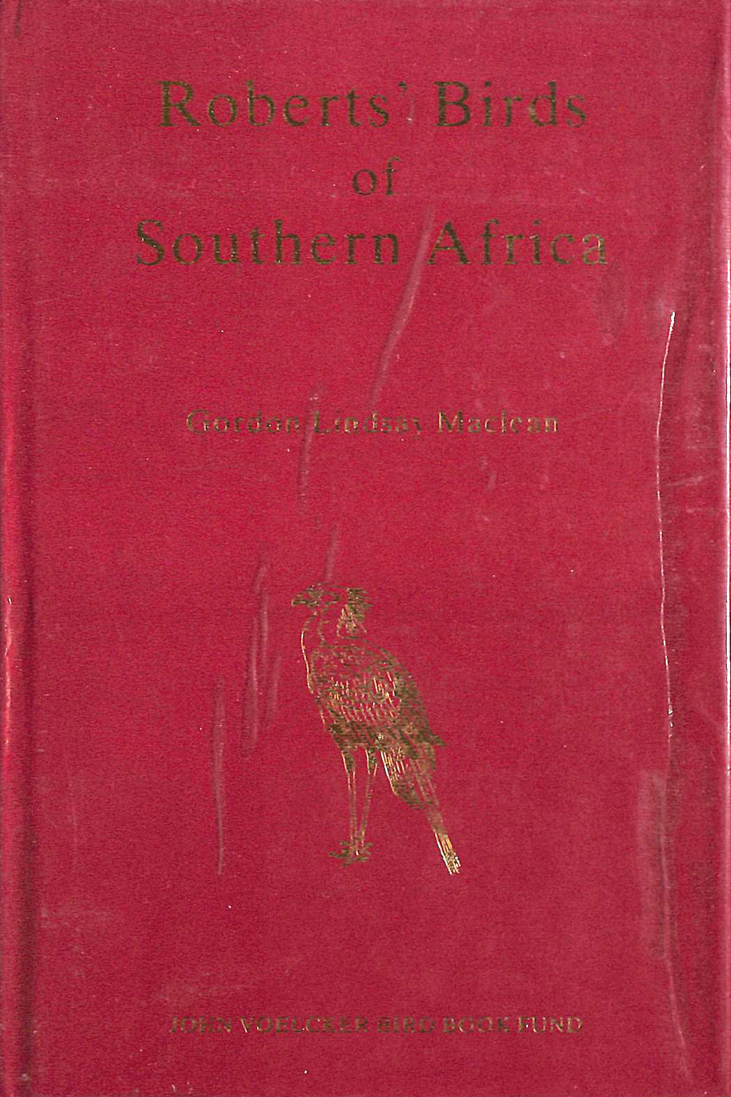 Image for Roberts' Birds of Southern Africa