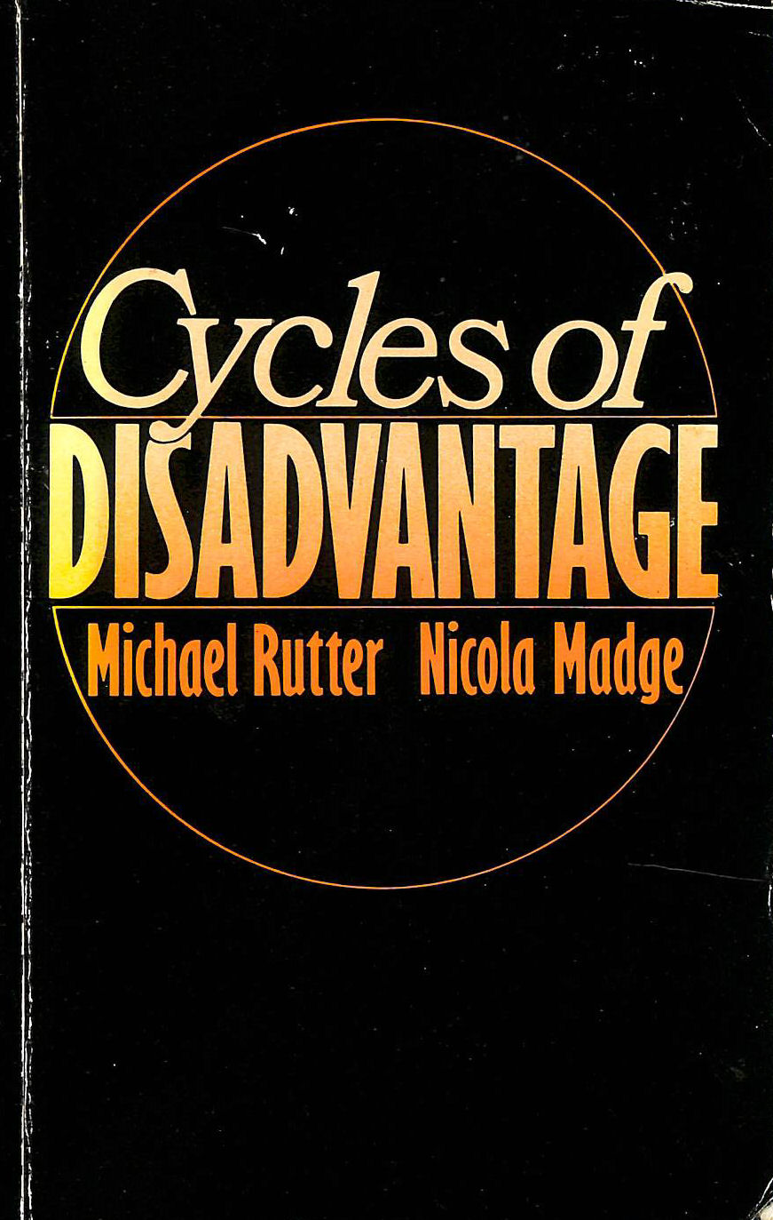 Image for Cycles of Disadvantage