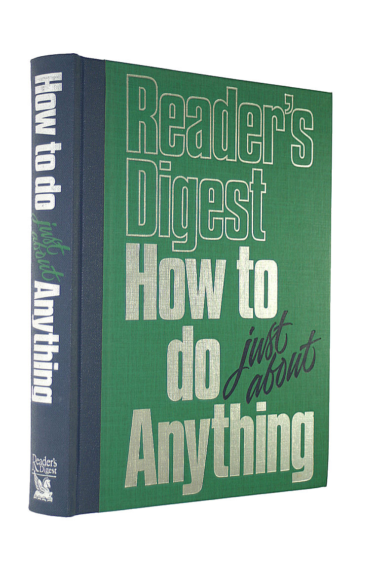 Image for How to Do Just About Anything (Readers Digest)