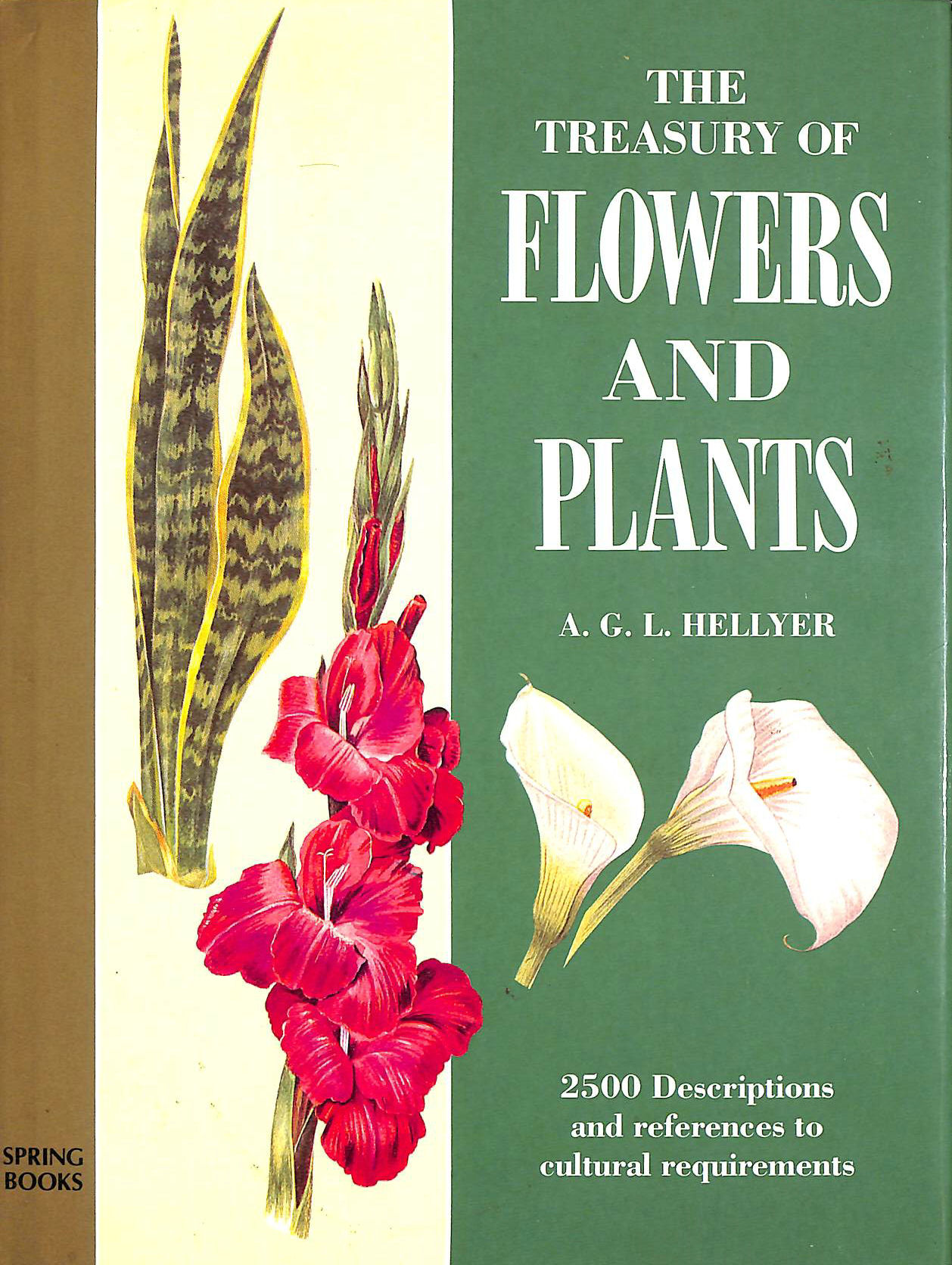 Image for The Treasury of Flowers and Plants in Colour: An Amateur Gardening Encyclopaedia