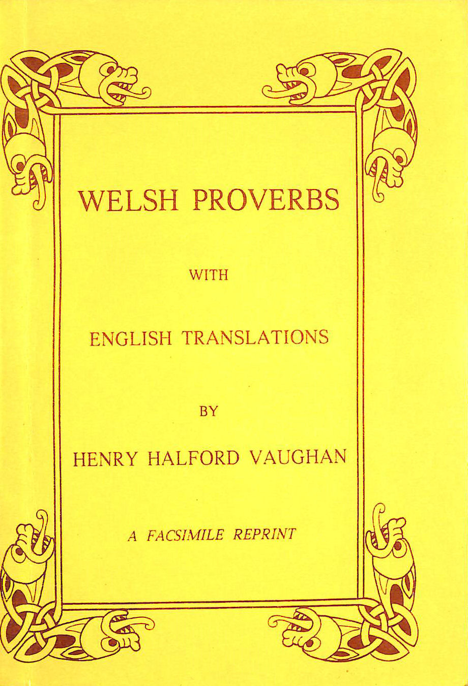 Image for Welsh Proverbs: With English Translations