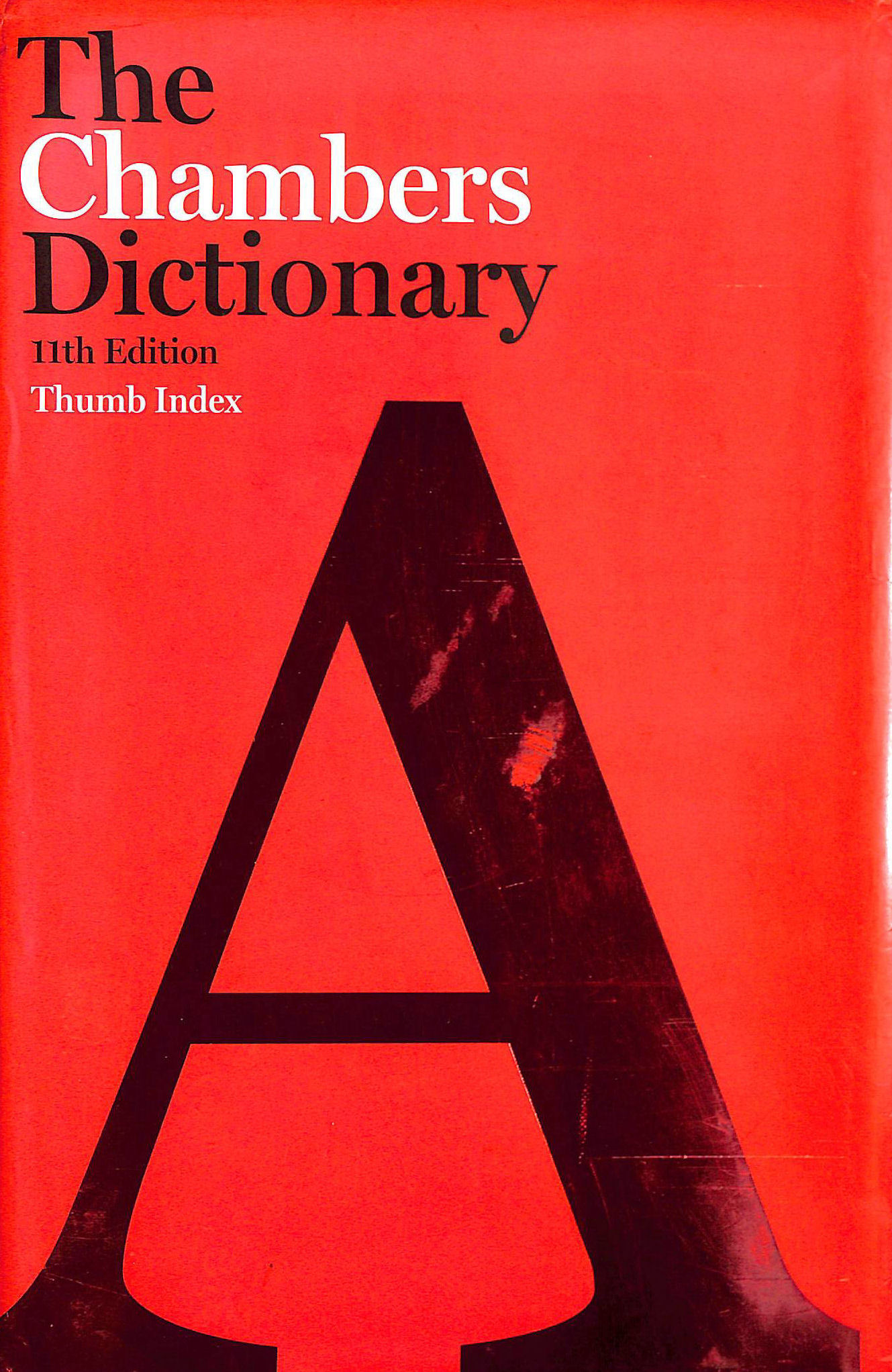 Image for The Chambers Dictionary Thumb Index, 11th edition