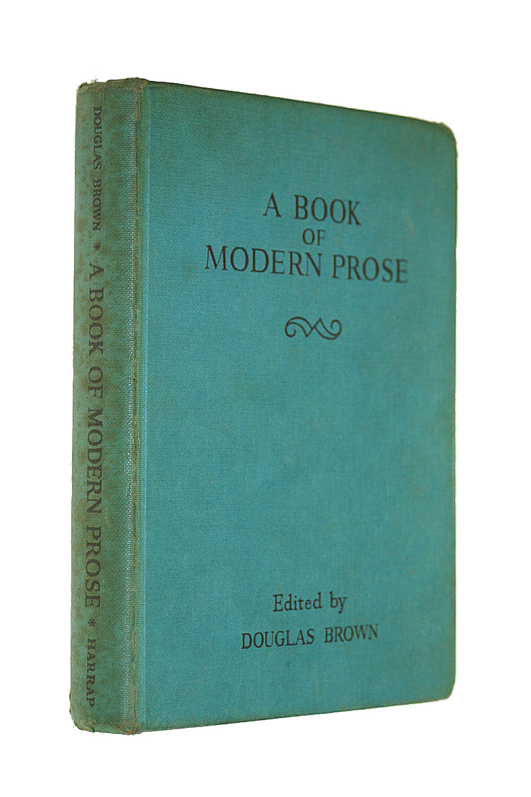 Image for A Book of Modern Prose