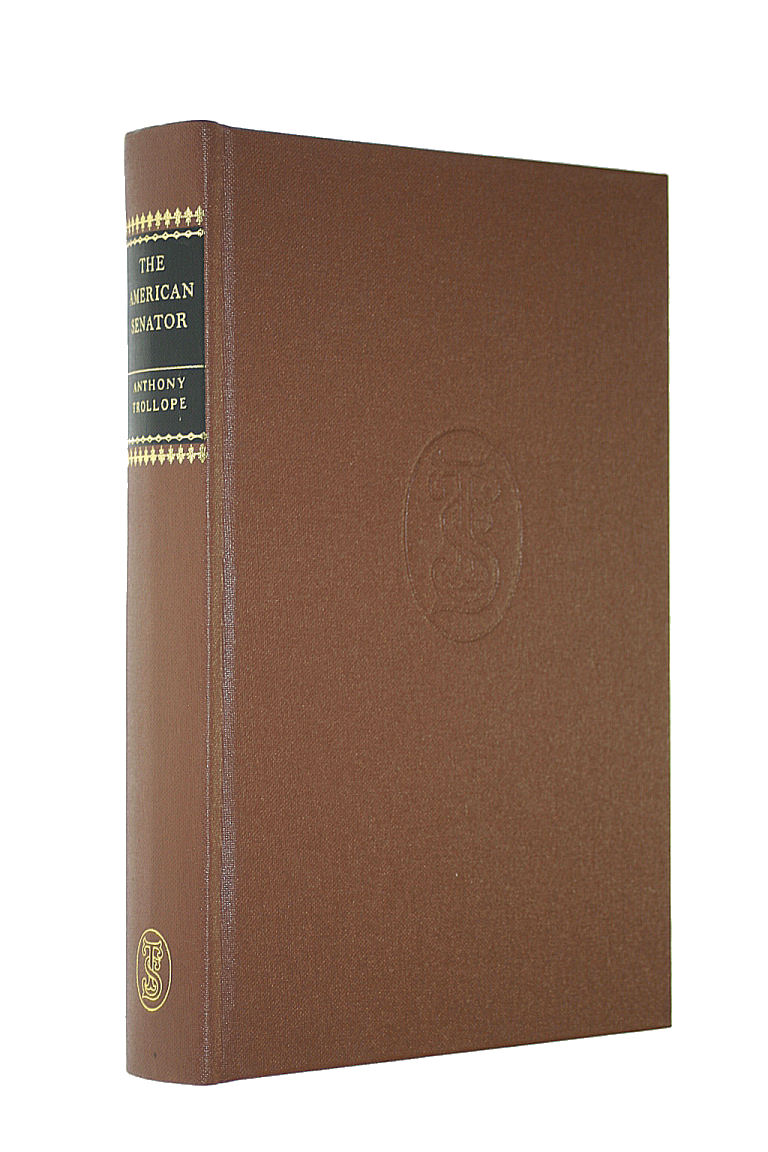 Image for The American Senator (Complete Novels of Anthony Trollope)