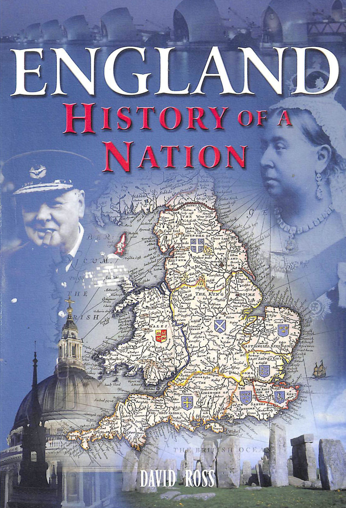 Image for ENGLAND HISTORY OF A NATION